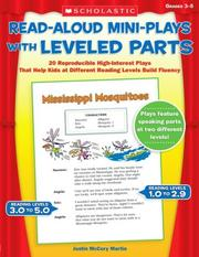 Cover of: Read-Aloud Mini-Plays With Leveled Parts