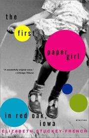 Cover of: The First Paper Girl in Red Oak, Iowa
