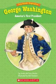 Cover of: Easy Reader Biographies: George Washington