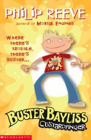 Cover of: Custardfinger (Buster Bayliss)