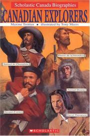 Cover of: Canadian Explorers