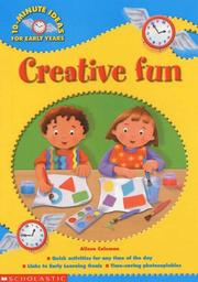 Cover of: Creative Fun (10-minute Ideas for the Early Years)
