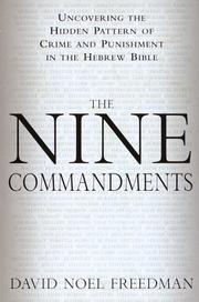 Cover of: The nine commandments