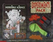 Cover of: Horrible Science Experiments Pack (Horrible Science)