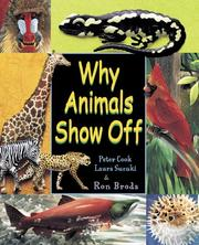 Cover of: Why Animals Show Off