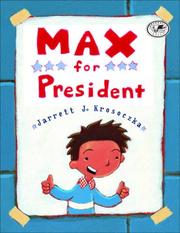 Cover of: Max for President