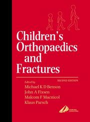 Cover of: Children's Orthopaedics and Fractures