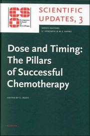 Cover of: Dose and Timing | G. Rosti
