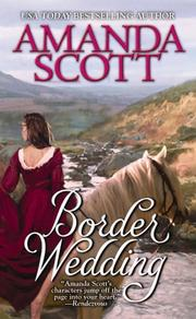 Cover of: Border Wedding | Amanda Scott