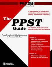 Cover of: The PPST Guide