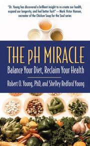 Cover of: The pH Miracle by Robert O. Young, Shelley Redford Young