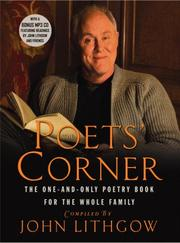 Cover of: The Poets' Corner: The One-and-Only Poetry Book for the Whole Family