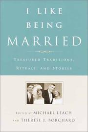 Cover of: I Like Being Married | Michael Leach