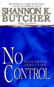 Cover of: No Control | Shannon K. Butcher