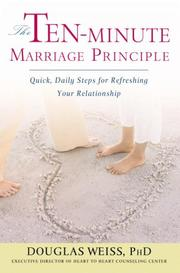 Cover of: The Ten-Minute Marriage Principle