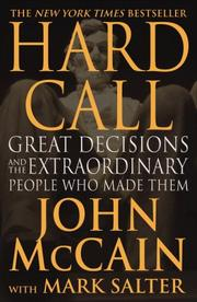 Cover of: Hard call