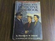 Cover of: The Hardy Boys Detective Handbook | Franklin W. Dixon