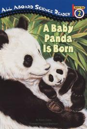 Cover of: A Baby Panda Is Born (All Aboard Science Reader) | Kristin Ostby