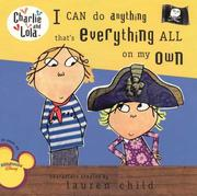 Cover of: I Can Do Anything That