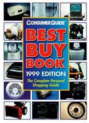 Cover of: Best Buy Book 1999 (Annual) | Consumer Guide editors