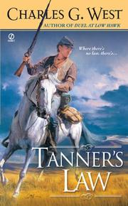 Cover of: Tanner's Law