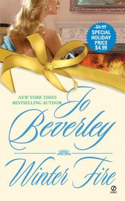 Cover of: Winter Fire | Jo Beverley