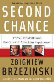 Cover of: Second Chance: Three Presidents and the Crisis of American Superpower