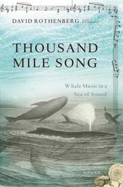 Cover of: Thousand mile song