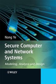 Cover of: Secure Computer and Network Systems