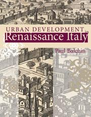Cover of: Urban Development in Renaissance Italy