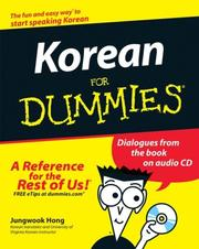 Cover of: Korean For Dummies | Jungwook Hong