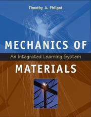 Cover of: Mechanics of Materials by Timothy A. Philpot