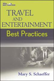 Cover of: Travel and Entertainment Best Practices