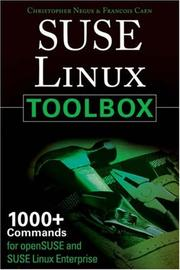 Cover of: SUSE Linux toolbox by