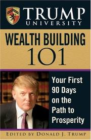 Cover of: Trump University Wealth Building 101 by Donald Trump