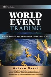 Cover of: World Event Trading