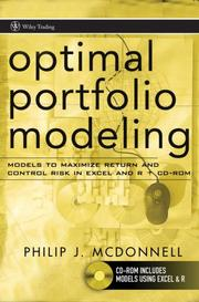 Cover of: Optimal Portfolio Modeling | Philip McDonnell