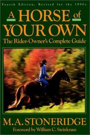 Cover of: A Horse of Your Own