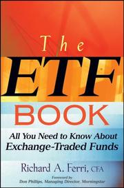 Cover of: The ETF Book