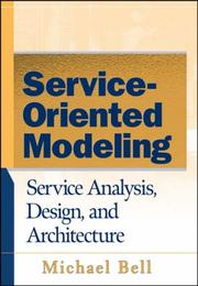 Cover of: Service-Oriented Modeling