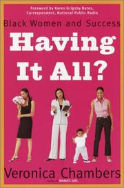Cover of: Having It All? | Veronica Chambers