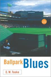 Cover of: Ballpark blues | C. W. Tooke
