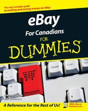 Cover of: Ebay for Canadians for Dummies | Marsha Collier