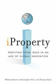 Cover of: iProperty | William Barrett, Christopher Price, Thomas Hunt