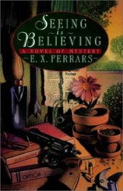 Cover of: Seeing is believing