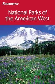 Cover of: Frommer's National Parks of the American West (Park Guides) | Shane Christensen
