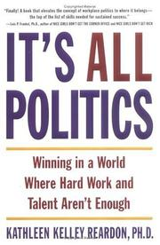 Cover of: It's All Politics