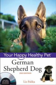 Cover of: German Shepherd Dog, with DVD: Your Happy Healthy Pet
