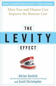 Cover of: The levity effect