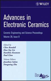 Cover of: Advances in Electronic Ceramics